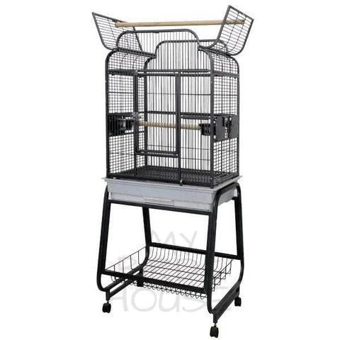 A&E Cage Co. Open Victorian Top Bird Cage
