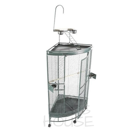 A&E Cage Co. Medium Corner Bird Cage