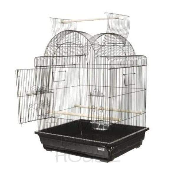 "A&E Cage Co. 25"" x 21"" Victorian Top Bird Cage"