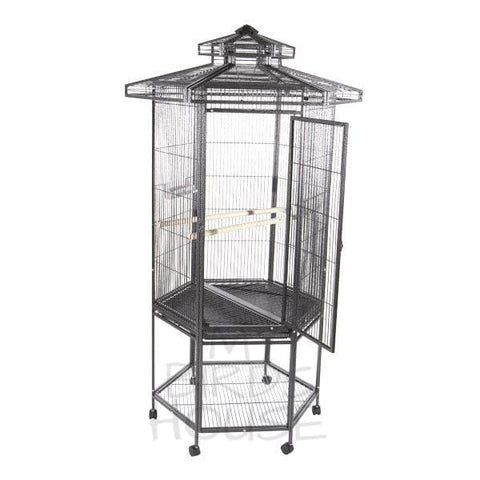 "A&E Cage Co. 27"" x 30"" Hexagon Bird Cage"