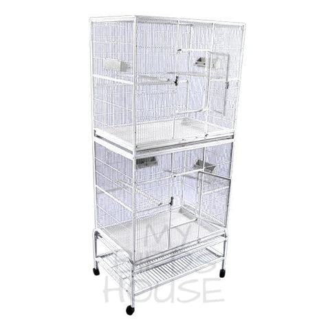 "A&E Cage Co. 32"" x 21"" Double Stack Flight Bird Cage"