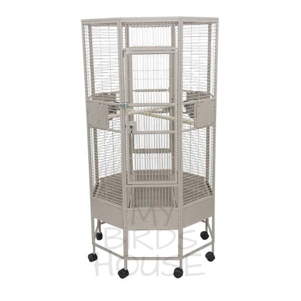 "A&E Cage Co. 32"" x 32"" Octagon Bird Cage"
