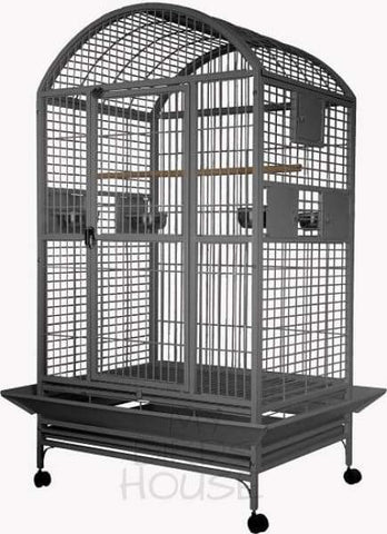 A&e Cage Co. 36 X 28 Dome Top Bird Platinum