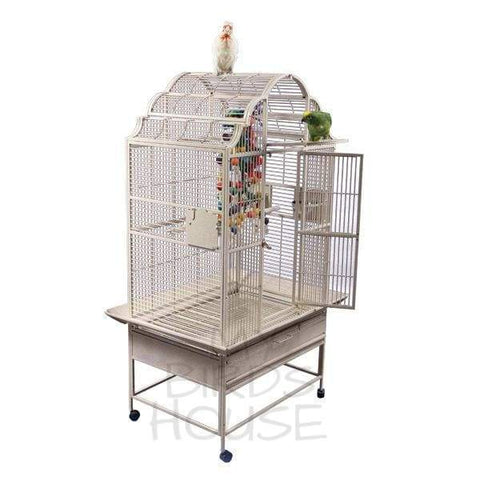 "A&E Cage Co. 36"" x 28"" Opening Victorian Top Bird Cage"