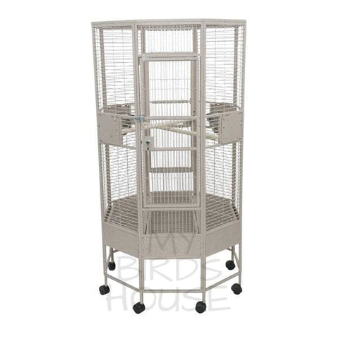 "A&E Cage Co. 36"" x 36"" Octagon Bird Cage"