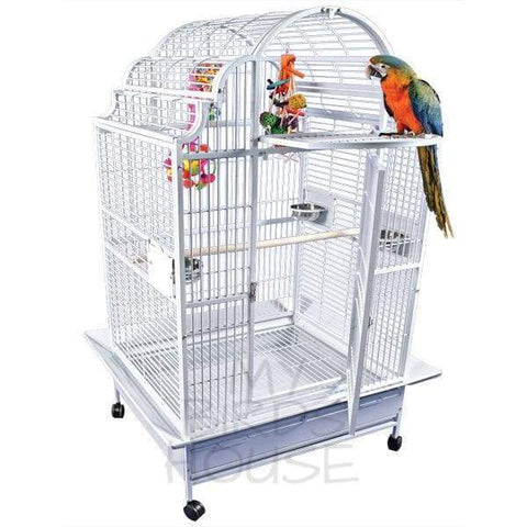 "A&E Cage Co. 40"" x 32"" Opening Victorian Top Bird Cage"
