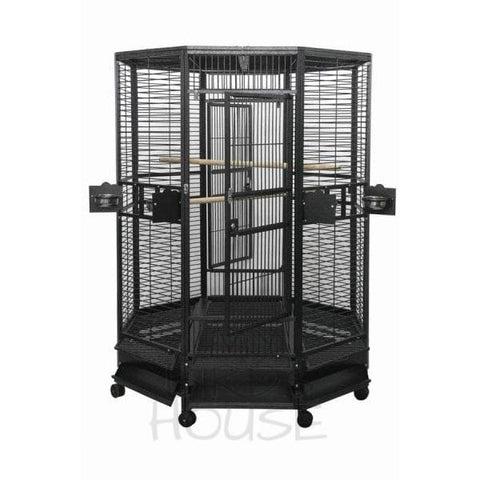 "A&E Cage Co. 52"" x 52"" Octagon Bird Cage"