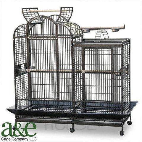 "A&E Cage Co. 69"" x 28"" Split Level House Bird Cage"