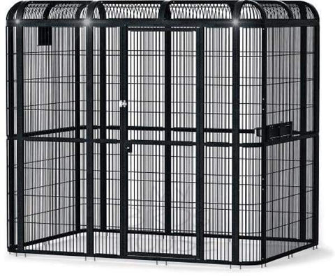 "A&E Cage Co. 85"" x 61"" x 79"" Walk In Aviary"