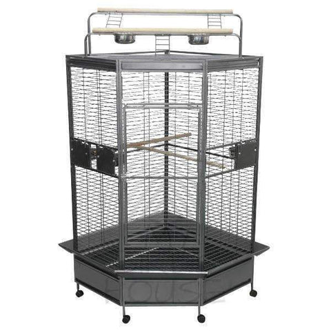 A&E Cage Co. Large Corner Bird Cage