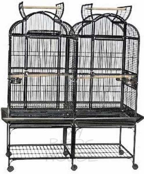 A&E Cage Co. 51 x 23  Double Opening Victorian Top Bird Cage