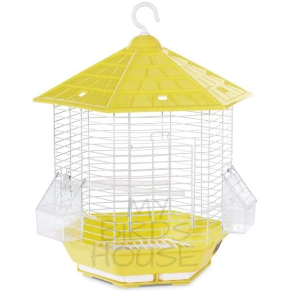 Bali Bird Cage - Yellow
