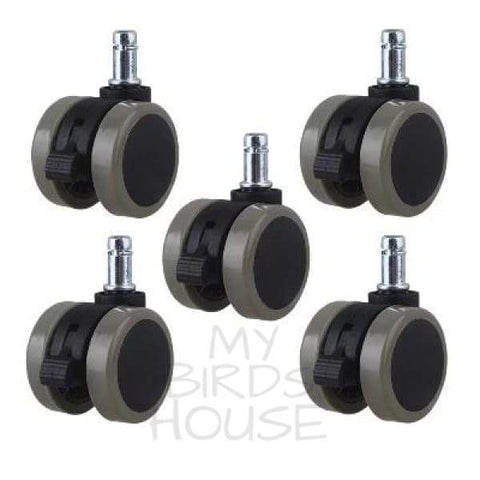 "Bird Cage Caster 2"" Wheels with Brakes"