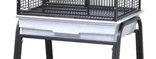 "Bird Cage Base and Pull Out Tray for 22"" x 17"" Cage Base"