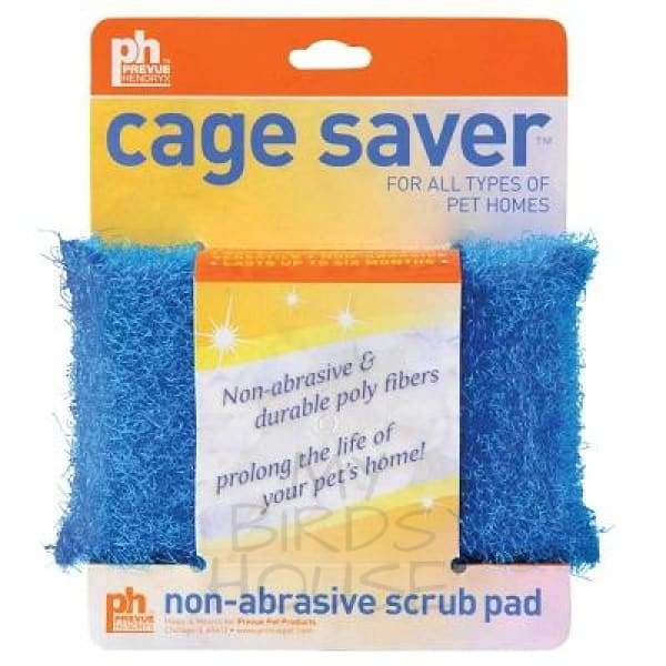 Prevue Pet Products cage saver scrub pad bird cage