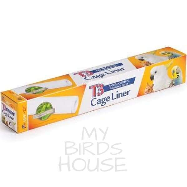 "Bird Cage Tray Liner - 14.5"" inch x 25' ft"