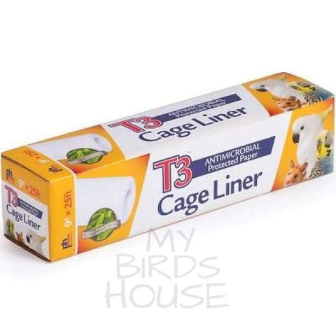 "Bird Cage Tray Liner - 9"" inch x 25' ft"