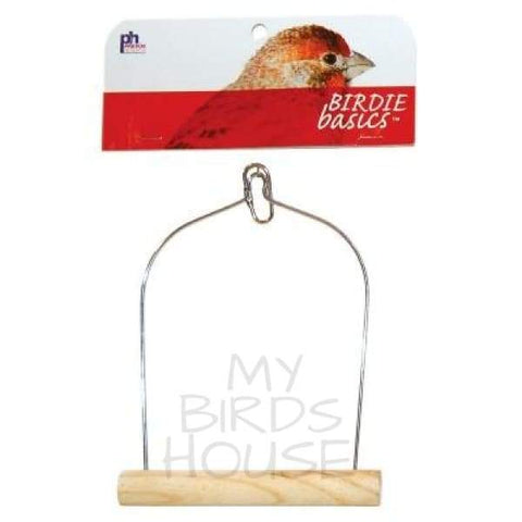"Birdie Basics 5"" x 7 Bird Swing"