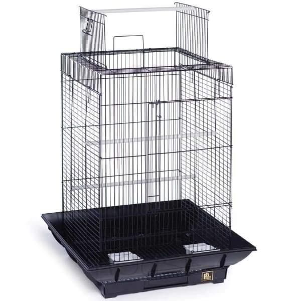Clean Life Playtop Bird Cage - Black