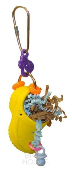 Croc-Fetti Bird Toy