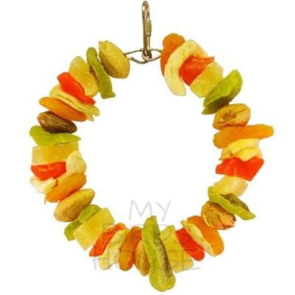 Tropical Delight Deluxe Fruit Ring Bird Toy