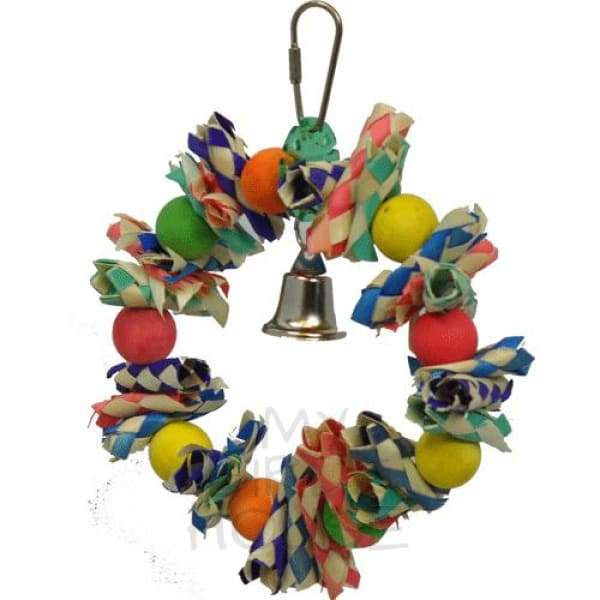 Fiesta Wreath - Small Bird Toy
