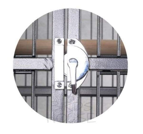 Half Circle Bird Cage Door Lock