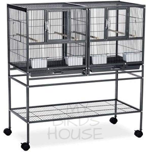Prevue Hendryx Hampton Deluxe Divided Breeder Bird Cage