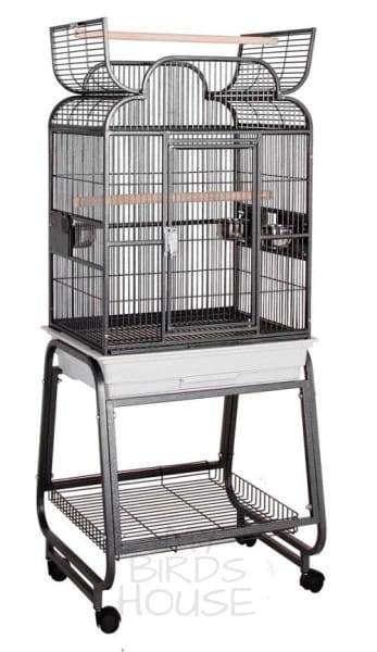 "HQ 22"" x 17"" Scroll Opening Top Bird Cage"