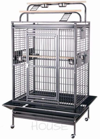 "HQ 36"" x 28"" Play Top Bird Cage"