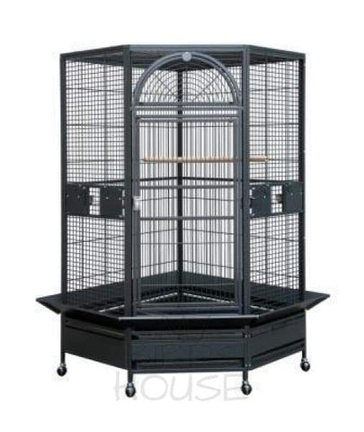 HQ 44 x 42 Large Corner Bird Cage