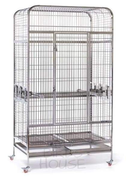 Prevue Pet Products Imperial Extra Large Stainless Steel Bird Cage
