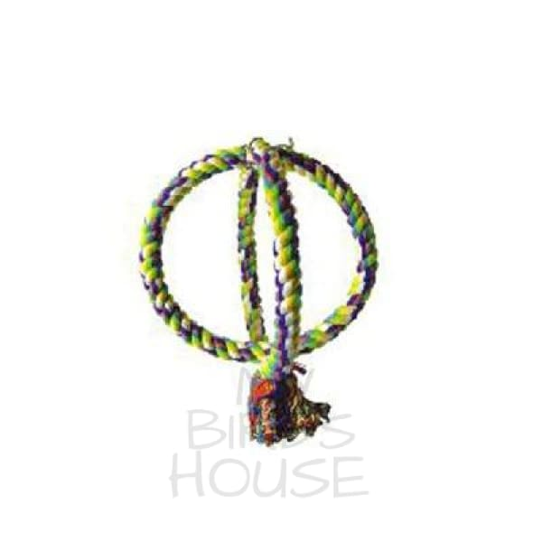 Interlocking Double Rope Swing Bird Toy