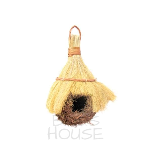 Large Hanging Natural Finch Nest Bird Toy