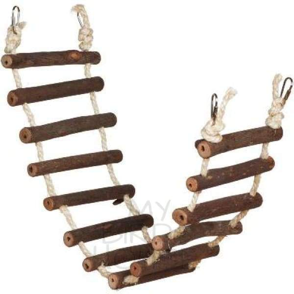 Large Rope Ladder Naturals Bird Toy
