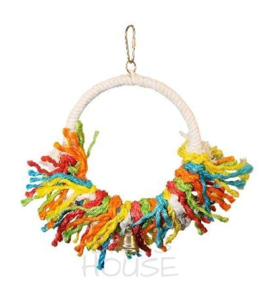 Medium Rope Preening Swing Bird Toy