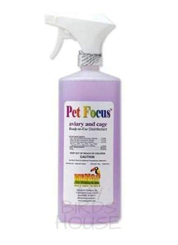 Pet Focus Aviary and Bird Cage Disinfectant Cleaner - (32 oz)
