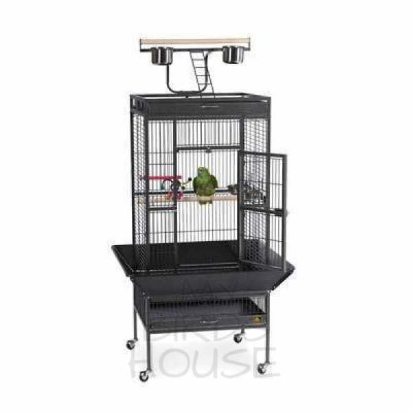 "Prevue Hendryx 24"" x 20"" Small Play Top Bird Cage"