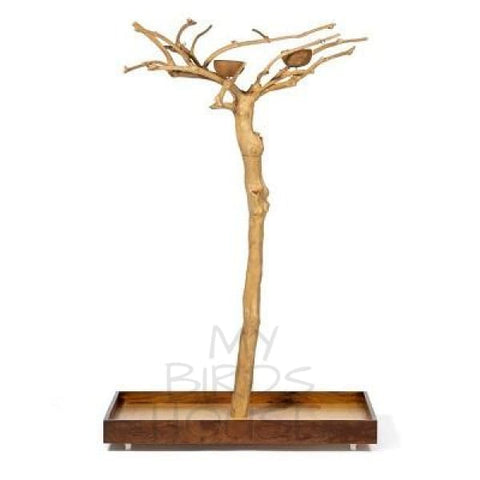 Prevue Hendryx Coffeawood Tree Floor Stand Style #2 Small