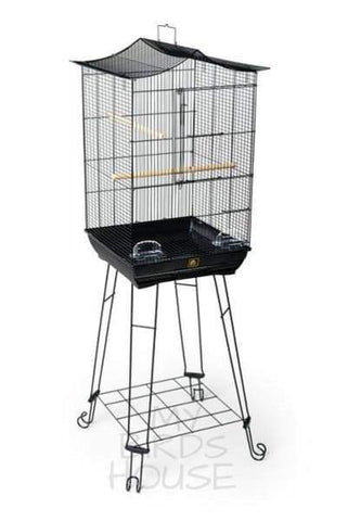Prevue Hendryx Crown Top Bird Cage with Stand