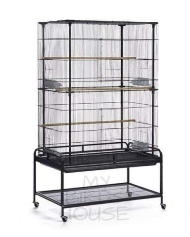 Prevue Hendryx Playtop Flight Bird Cage with Stand