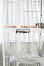Load image into Gallery viewer, Small Dome Top Bird Cage - Chalk White