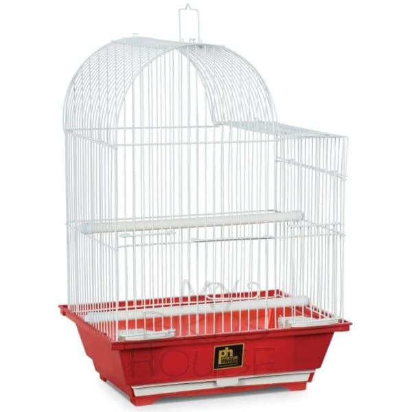 Small Red Bird Cage