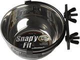 Bird Cage Stainless Steel Water & Food Bowl (with Ring and Bolt)