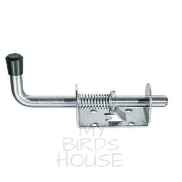 Spring Latch Loaded Barrel Bolt Latch Door Lock Bird Cage
