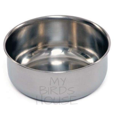 8 oz Stainless Steel Replacement Bird Cage Cup Bowl