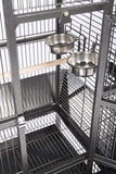 Stainless Steel Replacement Bird Cage Cup Bowl
