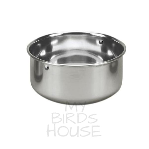 Stainless Steel Replacement Bowl Bird Cage