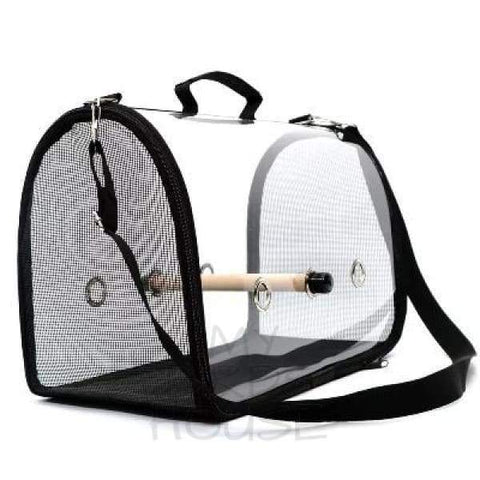Transparent Clear Breathable Travel Bag Bird Carrier
