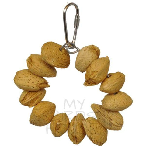 Tropical Delight - Almond Nut Ring Jr. Bird Toy